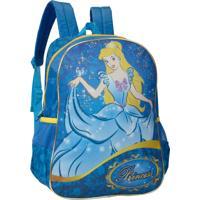 Mochila Infantil Luxcel Escolar Azul