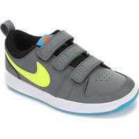 Tênis Infantil Nike Pico Velcro - Unissex-Cinza