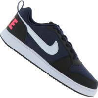 Tênis Nike Court Borough Low - Masculino - Azul Esc/Preto