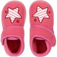 Pantufa Infantil Para Menina - Rosa Pink