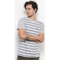 Camiseta Hurley Especial Optic Masculina - Masculino-Cinza