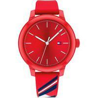 Relógio Tommy Hilfiger Feminino Borracha Vermelha - 1782233