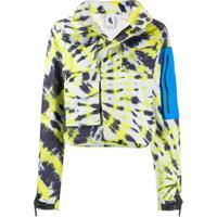 Off-White Jaqueta Nrg Tie-Dye X Nike - Branco