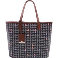 Shopping Bag Nina Triangle Black   Schutz