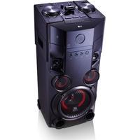 Mini System Torre Lg X Boom Om5560 500W Rms Com Multi Bluetoothdual Usb E Efeitos Dj – Bivolt