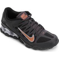 Tênis Nike Reax 8 Tr Masculino - Masculino-Preto+Cinza