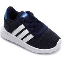 Tênis Infantil Adidas Lite Racer - Unissex-Azul+Branco