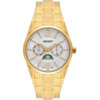Relógio Feminino Orient Multifunção Fgssm056 S2Kx - Unissex-Dourado