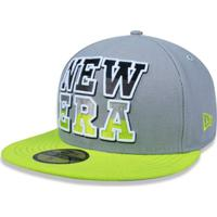 Netshoes  Bone 5950 Branded Aba Reta New Era - Masculino 7c7c88ba0f050