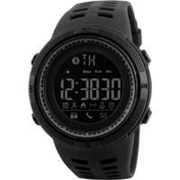 Relógio Pedômetro Skmei Digital Masculino - Masculino-Preto