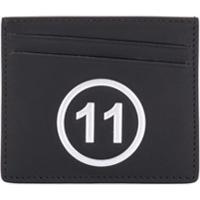 Maison Margiela Porta-Cartões Com Estampa De Logo - Preto