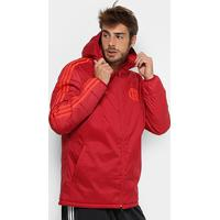 ... Jaqueta Flamengo Pesada C  Capuz Adidas Masculina - Masculino 0185c5a25ebb7