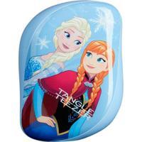Escova Para Os Cabelos Disney Frozen Compact Style Tangle Teezer - Unissex-Azul Claro