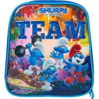 Lancheira Smurfs® Team- Azul & Branca- 21X17X12Cmsantino