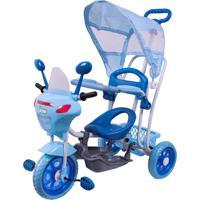 Triciclo Infantil 2 Em 1 C/ Toldo Luzes Música Bel Brink