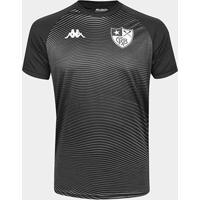 Camisa Botafogo Waves Supporter Kappa Masculina - Masculino-Preto