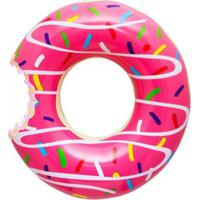 Bóia Gigante Donut Rosa - Unissex-Rosa