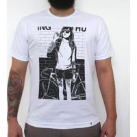 Anne Smoking - Camiseta Clássica Masculina