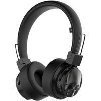 Headphone Black Skull Kimaster Bluetooth - Unissex