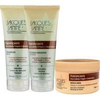 Kit De Shampoo & Condicionador + Máscara Fortificante- Jjacques Janine