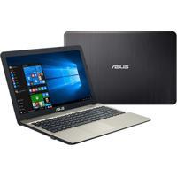 "Notebook 15,6"" Asus X541Na Quad Core 4Gb/500Gb/W10 Preto"
