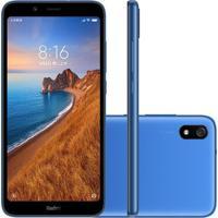 Smartphone Xiaomi Redmi 7A 32Gb 2Gb Ram Versão Global Desbloqueado Azul