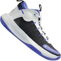 Tênis Cano Alto Nike Jordan Jumpman 2020 - Masculino - Azul/Branco