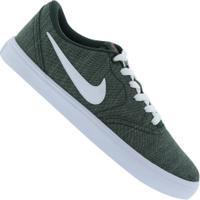 Tênis Nike Sb Check Solar Canvas Prm - Masculino - Verde Esc/Branco