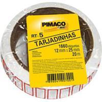 Etiqueta Adesiva Pimaco Preço Rt5 Com 1660 Unidades 12X25Mm