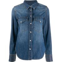 Zadig&Voltaire Camisa Jeans Fashion Show D Thelma - Azul