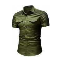 Camisa Greece - Verde Militar