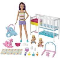 Boneca Barbie Skipper Escola De Bebês Com Acessórios - Feminino-Colorido