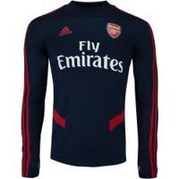 Blusão De Treino Arsenal 19/20 Adidas - Masculino - Azul Esc/Vermelho