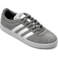 Tênis Adidas Vl Court 2.0 Masculino - Masculino-Cinza