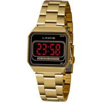 Relógio Lince Classico Mdg4645Lpxkx Feminino - Feminino-Dourado