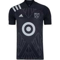 Camisa Major League Soccer 2020 Adidas - Masculina - Preto