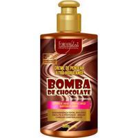 Creme De Pentear Forever Liss Bomba De Chocolate 300G - Unissex