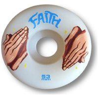 Rodas Faith Color Hands 53Mm 100A Branca