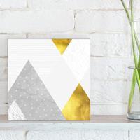 Quadro - Gold And Concrete
