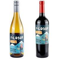 Vinho Tinto Filosur Cabernet Sauvignon 2020 + Vinho Branco Filosur Chardonnay 2020