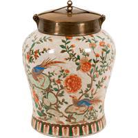 Vaso Decorativo De Porcelana Fiore Ii G
