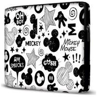 Capa Para Notebook Mickey 15 Polegadas Com Bolso Branco