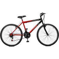 Bicicleta Master Bike Aro 26 Masculina Ciclone Plus 21 Marchas Vermelho