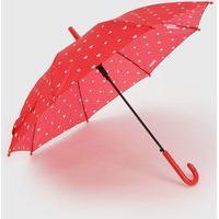 Guarda Chuva Pimpolho Colorê Coração Vermelho
