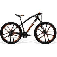Bicicleta Gts Aro 29 Freio A Disco Hidráulico Câmbio Mx9 27 Marchas E Amortecedor Com Rodas De Magné - Unissex