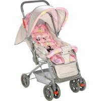 Carrinho De Bebê Funny Parapasseio Voyage - Feminino-Rosa