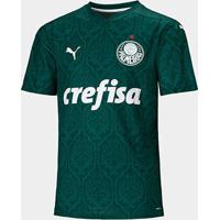 Camisa Palmeiras I 20/21 S/N° Torcedor Puma Masculina - Masculino