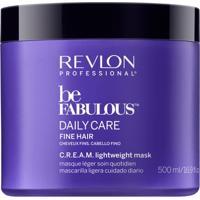 Revlon Professional Be Fabulous Lightweight - Máscara Para Cabelos Finos 500Ml - Unissex