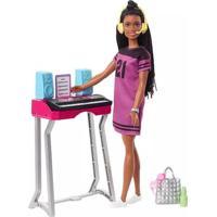 Boneca Barbie Dreamhouse Adventures Estúdio Brooklyn