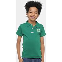 Camisa Polo Infantil Chapecoense Ii - Unissex